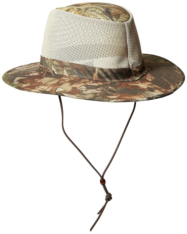 b4ecc4243c3 Henschel Hats AUSSIE BREEZER Crushable Hunting Fishing Hat (Timber   Amazon.in  Sports