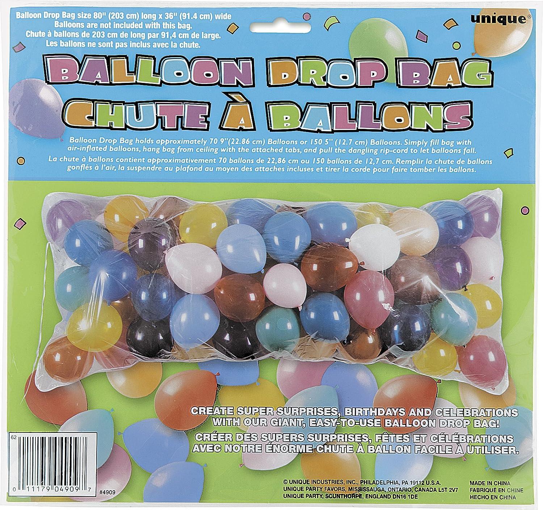 amazon com balloon drop bag party balloons arts crafts u0026 sewing