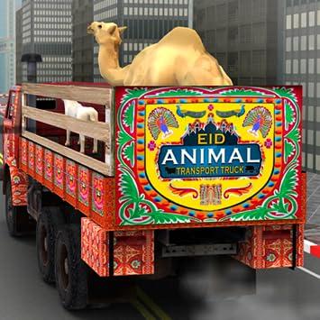 Amazon com: Eid Animal Transport Truck - Transporter Games