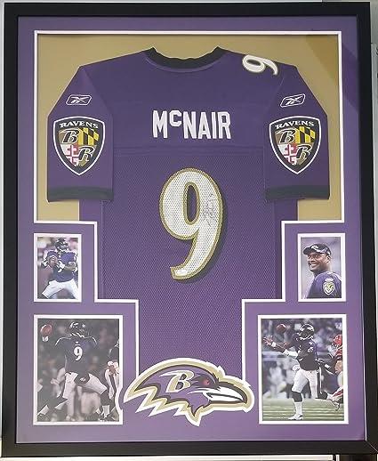 best service 5ef87 da407 Steve McNair Signed Autographed Jersey Baltimore Ravens ...