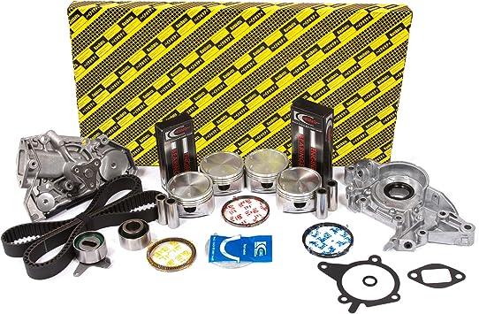 Intake /& Exhaust Valve Kit w// Viton Valve Stem Seals Fits 03-05 Kia Rio 1.6L