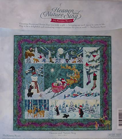 Amazon Mckenna Ryan Heaven And Nature Sing Pine Needles 6 Quilt