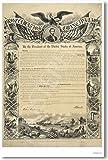 The Civil War: Emancipation Proclamation - Classroom Poster