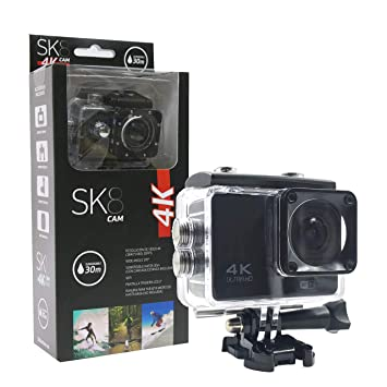 SK SK8 Camara, Unisex Adulto, Negro, Universal: Amazon.es: Deportes y aire libre
