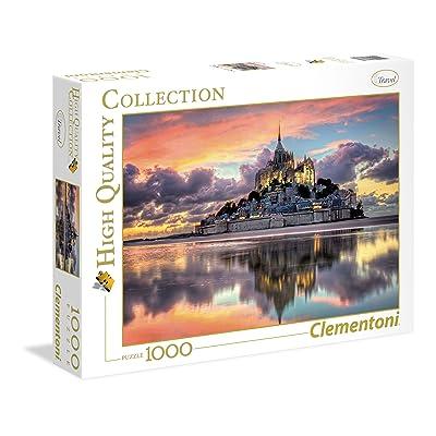 Clementoni 39367 - Puzzle - High Quality Collection - le Magnifique Mont Saint - Mi - 1000 Pièces