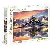 Clementoni - 39367 - High Quality Collection Puzzle - Le Magnifique Mont Saint-Michel - 1000 Pezzi