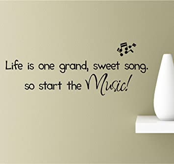 Amazon Com Life Is One Grand Sweet Song So Start The Music