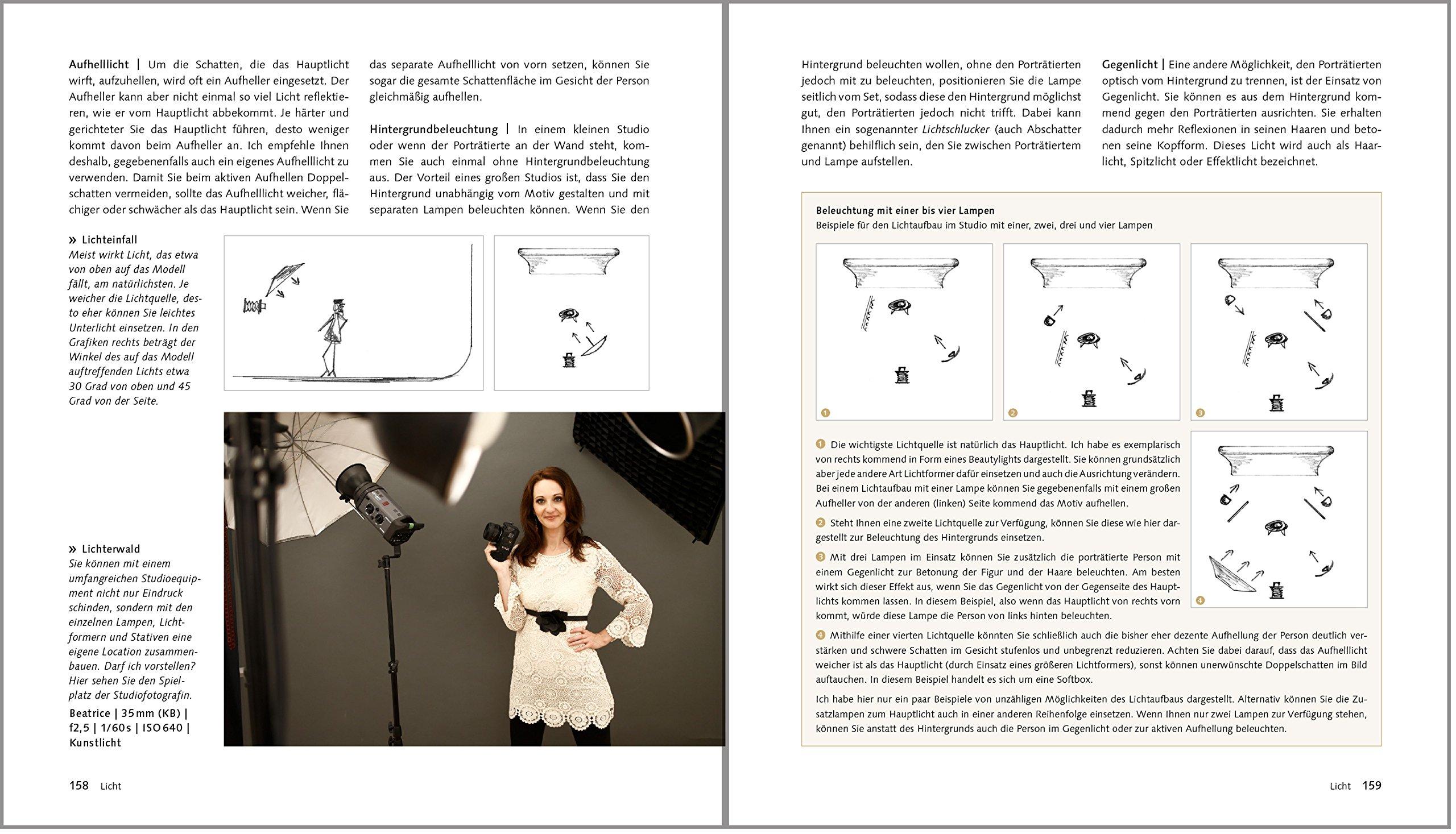 Porträtfotografie. Die große Fotoschule Galileo Design: Amazon.de: Marian  Wilhelm: Bücher