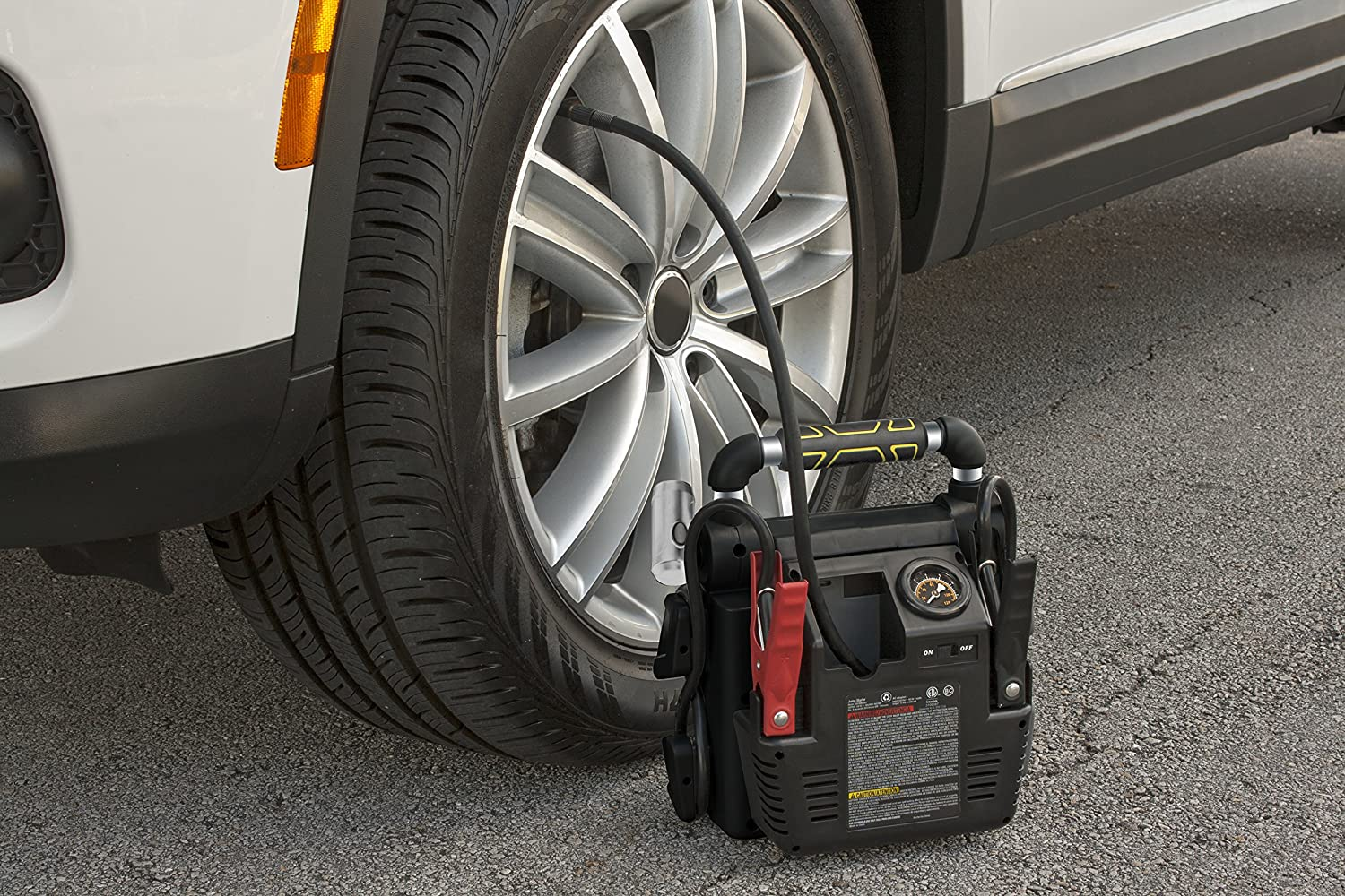 What are some tips for buying a Jump Starter air compressor?