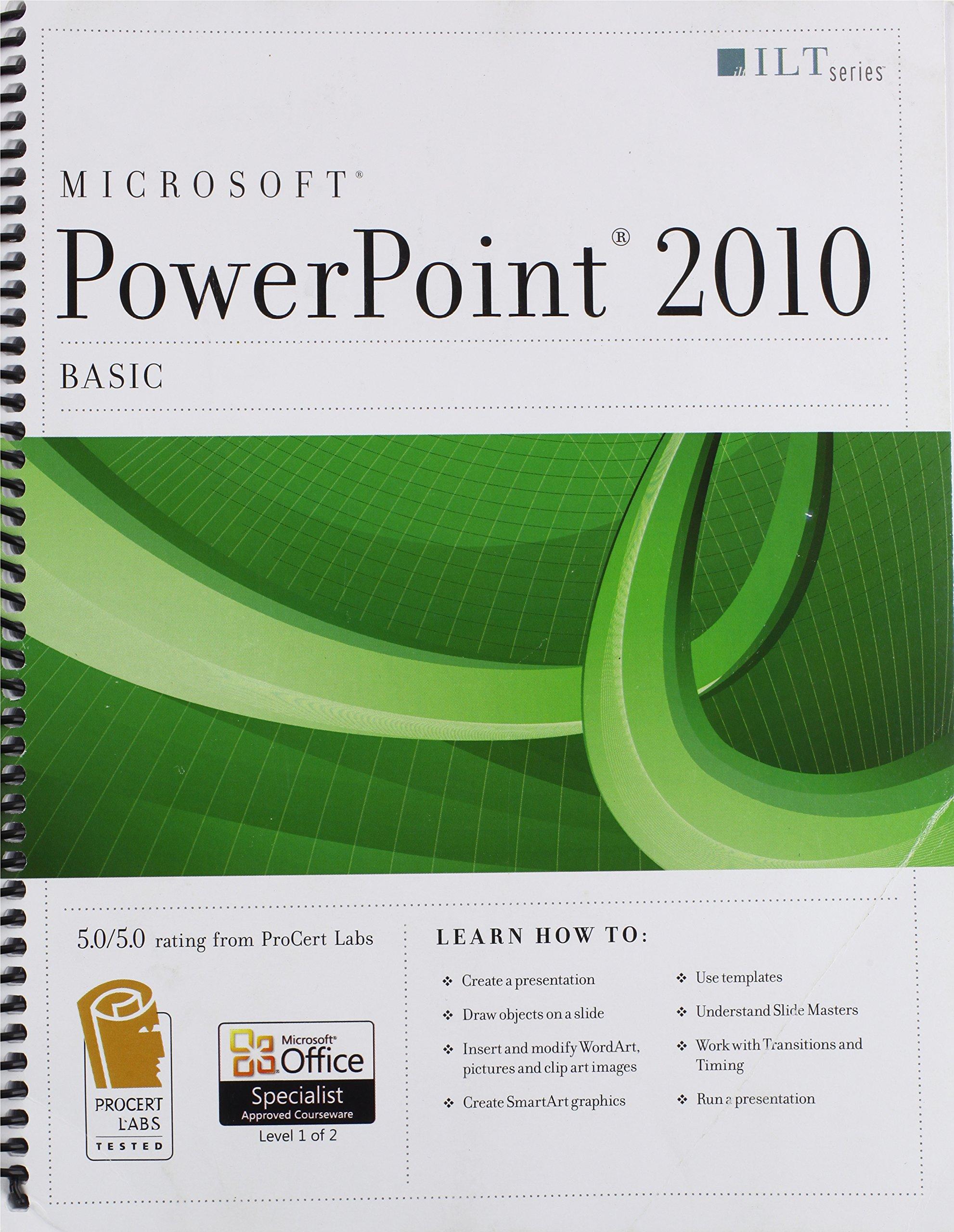 Powerpoint 2010: Basic + Certblaster (ILT)