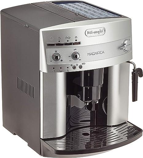 Delonghi ESAM3200S Maquina De Espresso Con Molinillo Integrado, 1450 W, 1.8 Litros, Plateado: Amazon.es: Hogar