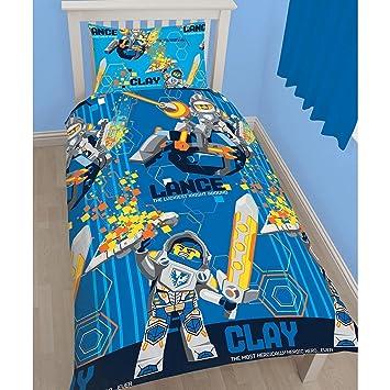 Lego Nexo Knights Kinder Power Wende Bettwäsche Set Einzelbett