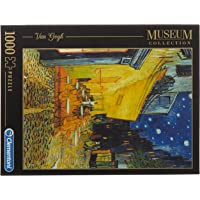 Clementoni - Van Gogh Esterno di Caffè di Notte 1000 Parça Puzzle (31470)