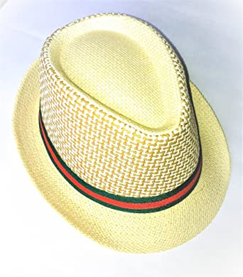 e6677cf075b Redsign Stylish Fedora Hats for Girls Man and Woman Classy Men s Hat Milky  off- White Cream ...