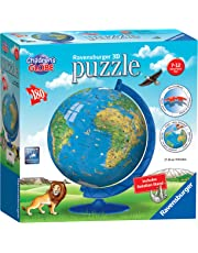 Ravensburger Children's World Globe 180 piece 3D Jigsaw Puzzle