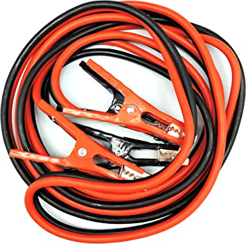 CARTMAN Booster Cable 4 Gauge x 16Ft in Carry Bag UL Listed 4AWG x 16Ft