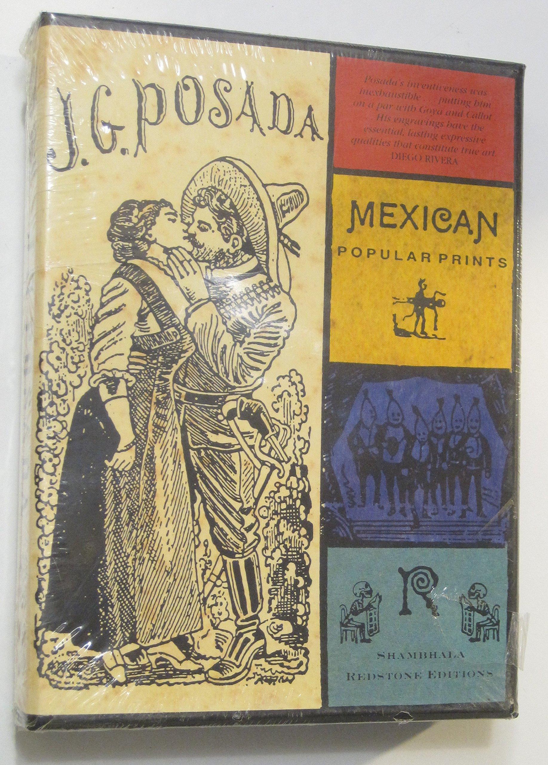 J.G. POSADA: Popular Mexican Prints (Shambhala Redstone Editions)