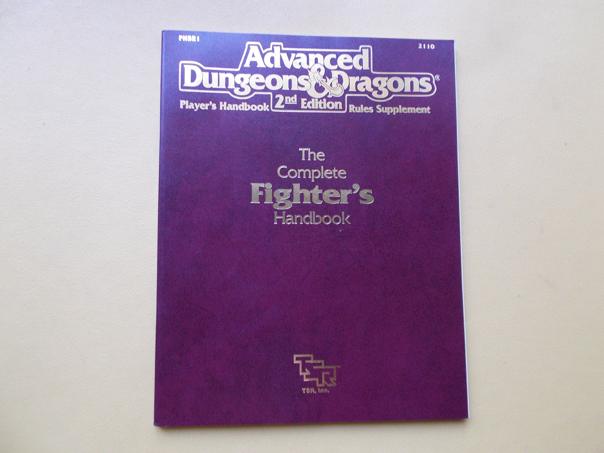 Advanced Dungeons & Dragons Player's Handbook 2nd Edition (Player's Handbook/Rules Supplement), Aaron Allston