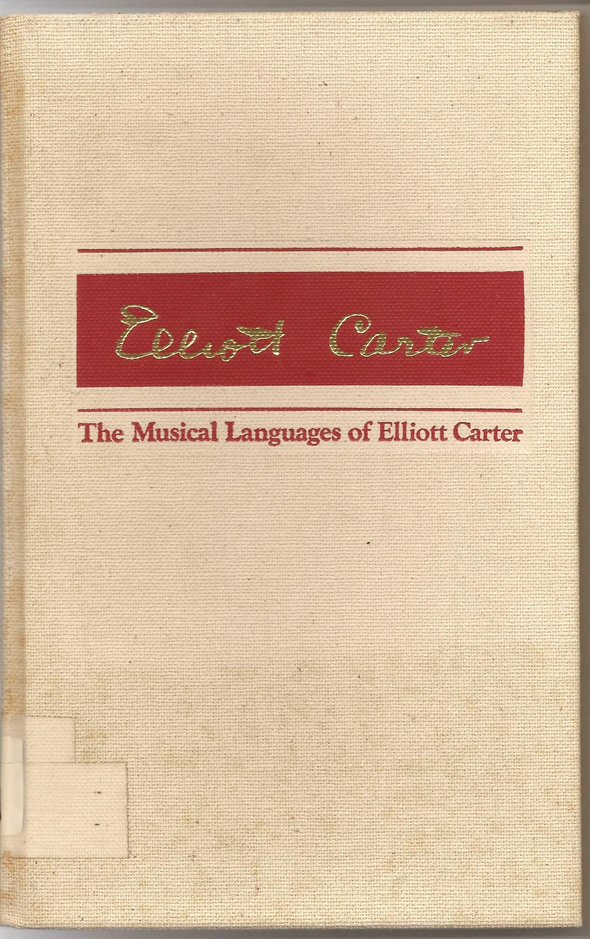 Musical Languages Elliott Carter product image