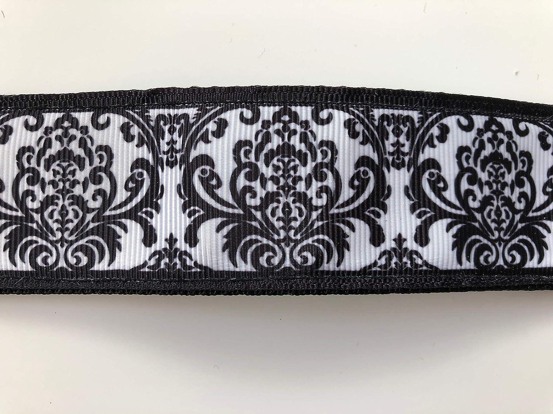 HOUNDS HABERDASHERY Martingale Collar 38mm Black /& White Pattern