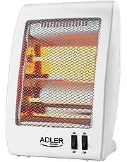 Halógeno Cuarzo calefactor   calefactor de infrarrojos, reflector de infrarrojos   Terraza Protección antivuelco   2stufig   2x 400W    tragegriff