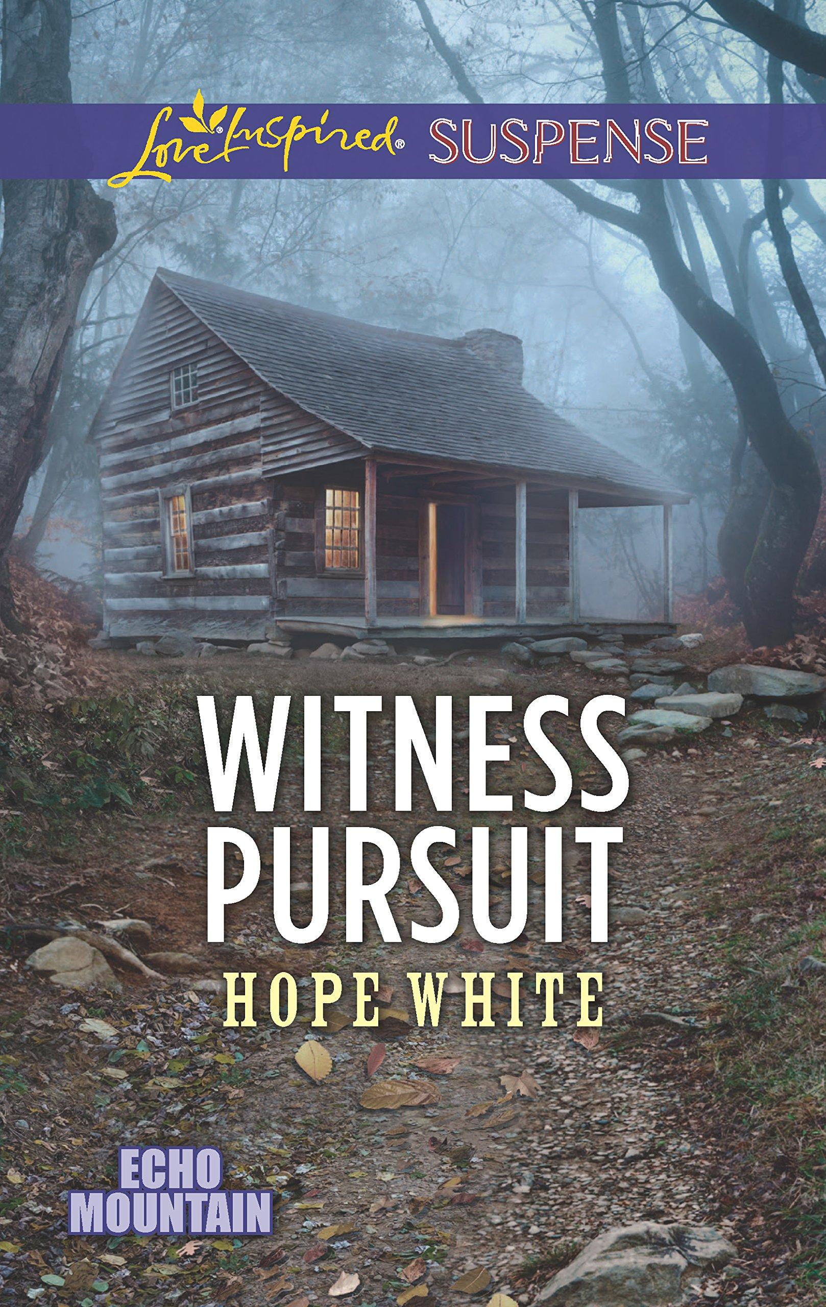 Witness Pursuit (Echo Mountain): Hope White: 9780373447671: Amazon.com:  Books