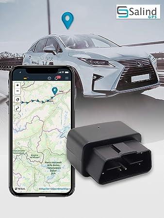 Salind GPS - Rastreador GPS para Coche (Enchufe OBD2, protección antirrobo para Coche, localización en Tiempo Real, localización en línea) (08): Amazon.es: Electrónica