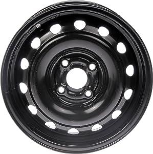 "Dorman 939-105 Steel Wheel (14x5.5""/4x100mm),Black"