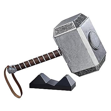 the avengers c1881eu40 legends series mjolnir electronic thor hammer