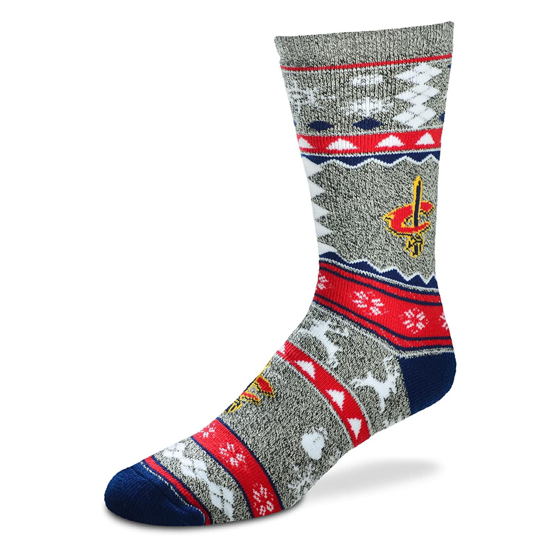 Bare Feet For NBA feo Navidad vacaciones calcetines, Cleveland ...
