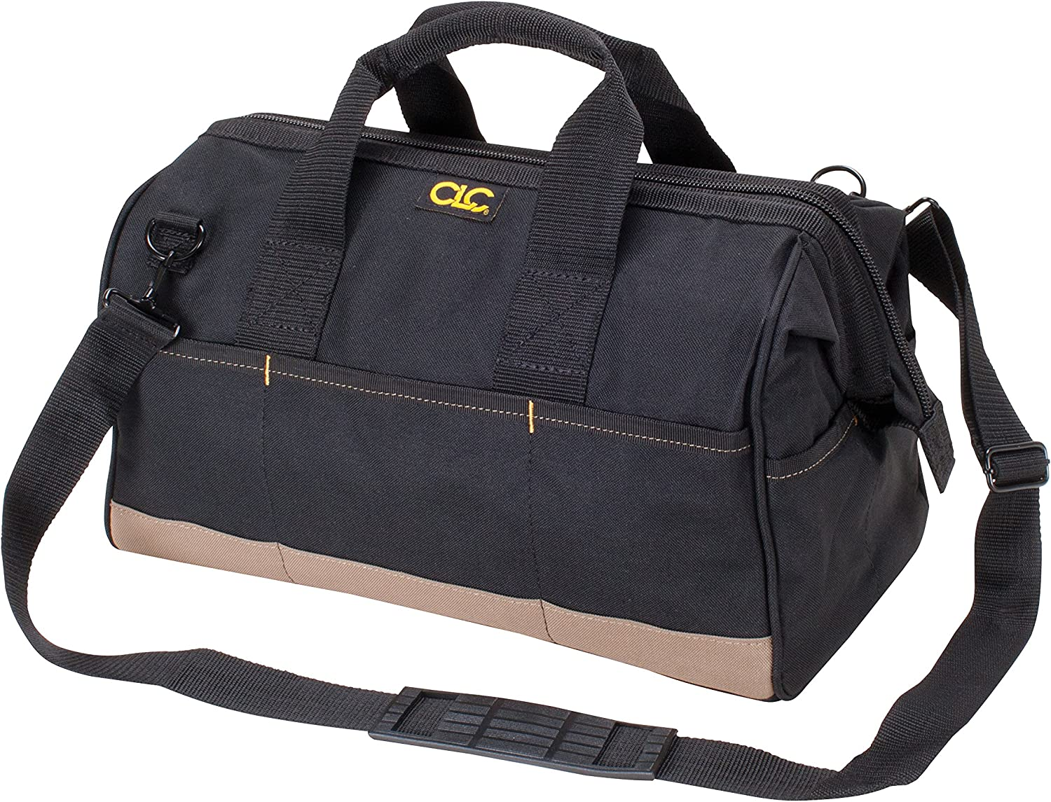 H Black W x 14 in Polyester  Tool Box  8.5 in CLC  12 in