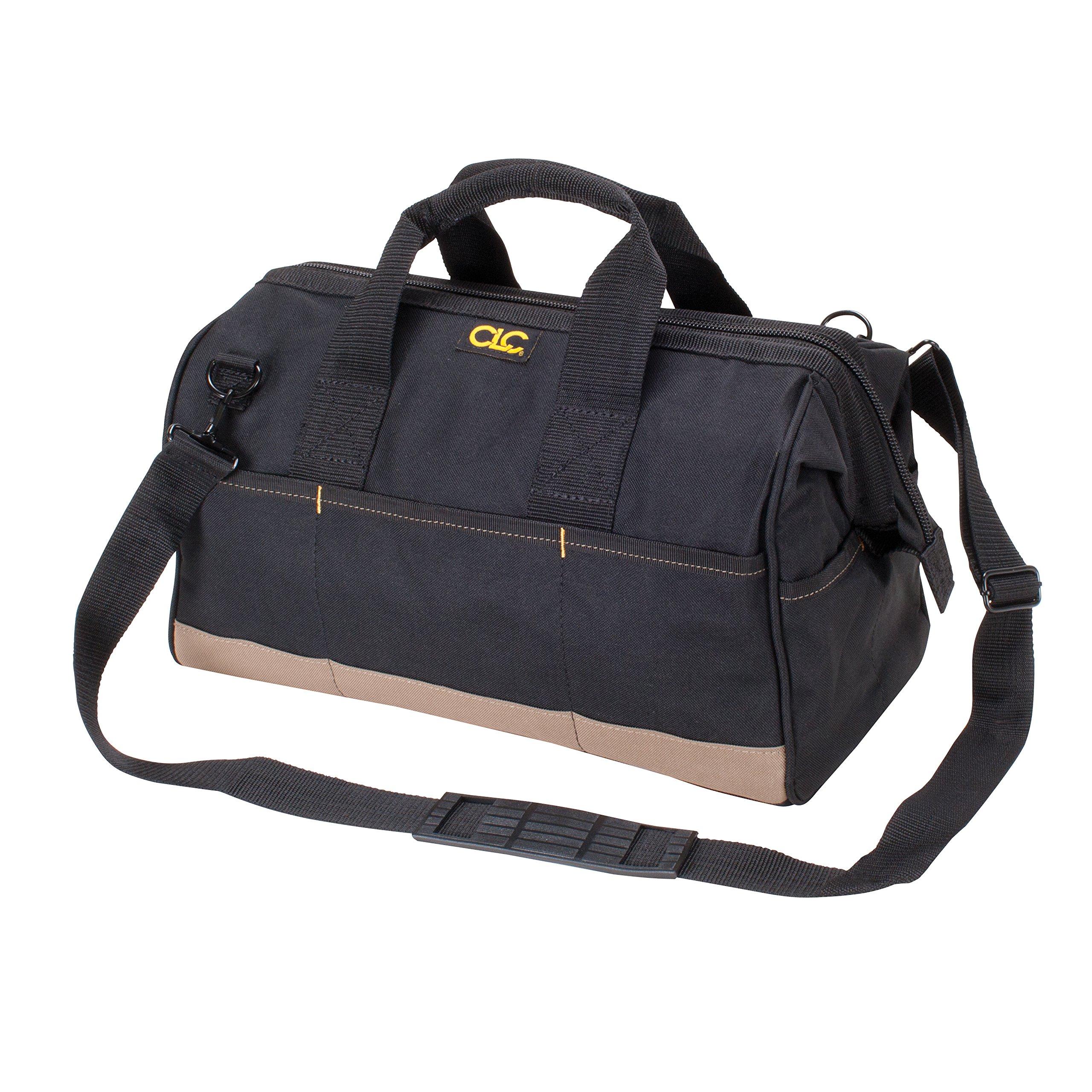 CLC Custom Leathercraft 1165 Large BigMouth Bag, 22-Pockets by Custom Leathercraft
