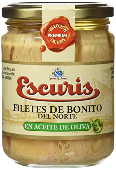 Escuris Filetes de Bonito en Aceite de Oliva - 400 gr