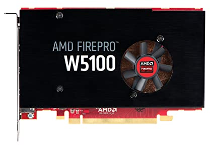 HP J3G92AA AMD FirePro W5100 - Graphics Card - FirePro W5100-4 GB GDDR5 -  PCI Express 3 0 x16-4 x DisplayPort - for Workstation Z440, Z640, Z840