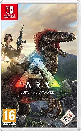 amazon ark survival evolved nintendo switch 日本語選択可能