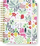 """Kate Spade New York 17 Month Mega Hardcover 2019-2020 Daily Planner, Weekly and Monthly Planner with Stickers, Pocket Folder, and Tab Dividers, 10"""" x 8"""", August 2019-December 2020, Garden Posy"""