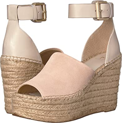 bf978806f10a Marc Fisher LTD Women s Adalyn Espadrille Wedge Ivory Multi Suede 5 M US