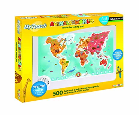 Amazon zanzoon my touch interactive animals of the world zanzoon my touch interactive animals of the world talking pad gumiabroncs Image collections