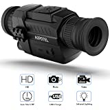 ACPOTEL Night Vision Monocular, 5 x 35 Digital Night Vision HD Scopes with Rechargeable/Take Photo/Video Recording…
