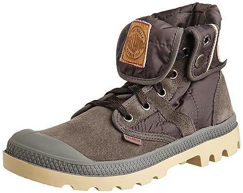 Palladium Pallabrouse Baggy EX, Damen Desert Boots, Grau (DK