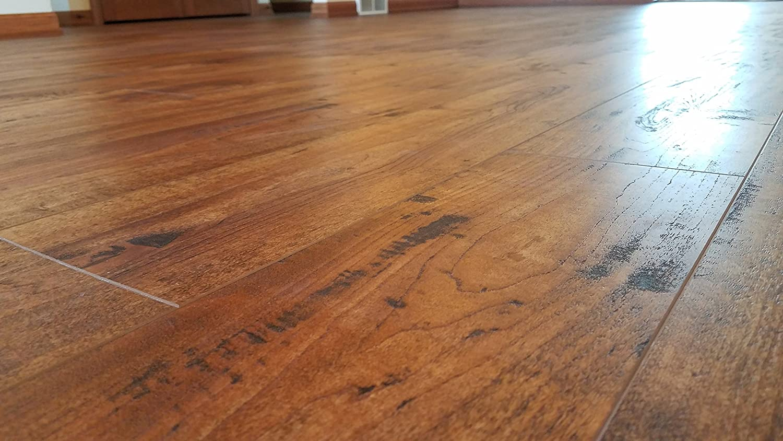 4-Colors Turtle Bay Floors Waterproof Click WPC Flooring SAMPLE, MIDTOWN Crafted Maple High-End Floating Flooring