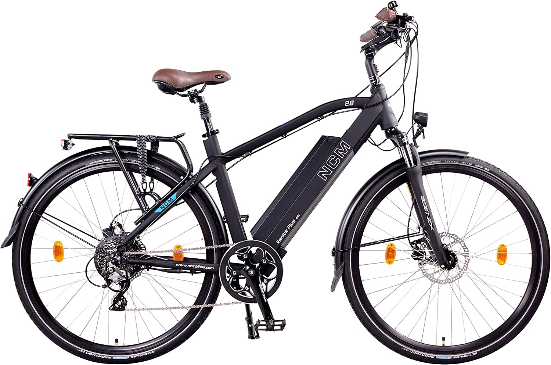 frenos de disco hidr/áulicos Tektro NCM Venice Plus 48/V 28/Trekking//Urban E-Bike 250/W con el kit de motor trasero 16/Ah 768/WH/ /Marco bater/ía con celdas Panasonic de ion de litio 8/velocida