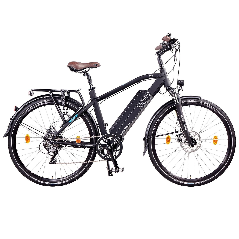 250/W con el kit de motor trasero frenos de disco hidr/áulicos Tektro /Marco bater/ía con celdas Panasonic de ion de litio 8/velocida NCM Venice Plus 48/V 28/Trekking//Urban E-Bike 16/Ah 768/WH/