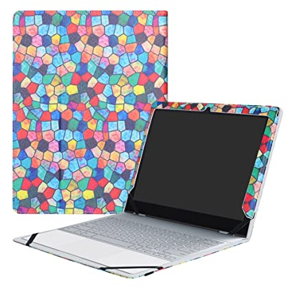 online store ebced 670f6 Google Pixelbook Case,Mama Mouth PU Leather Folio Carring Cover for 12.3