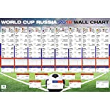 World Cup 2018 Russia, Schedule XL Poster | All groups and matches 68.5cm x 101.5cm (40x27 inches)