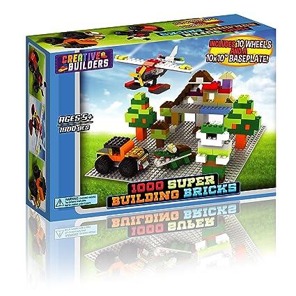 Amazon.com: 1000 bloques de construcción LEGO compatible ...