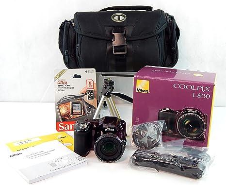 Nikon COOLPIX L830 Cámara Digital CMOS de 16 MP con Zoom de 34x ...