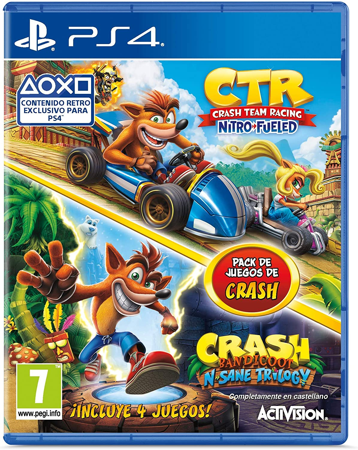 Crash Team Racing Nitro Fueled + Crash N. Sane Trilogy bundle ...