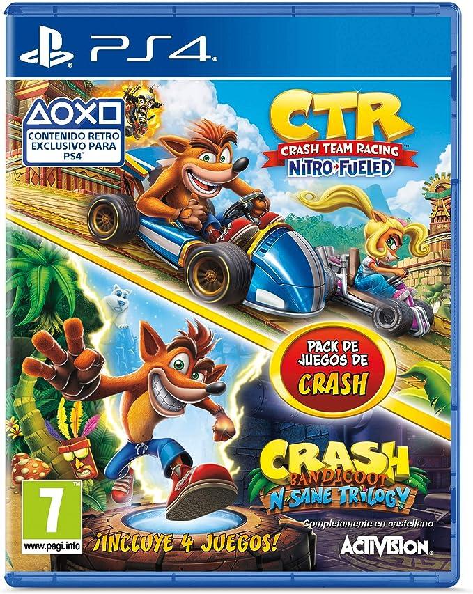 Crash Team Racing Nitro Fueled + Crash N. Sane Trilogy bundle ...