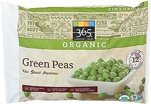 365 Everyday Value, Organic Green Peas, No Salt Added, 16 oz, (Frozen)